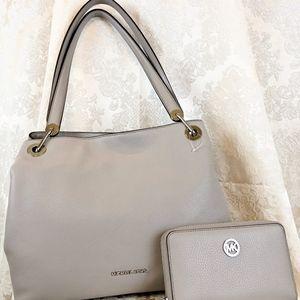 Authentic Michael Kors handbag/wallet set
